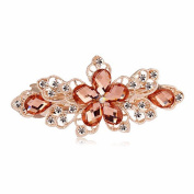 Hair Pin for Women,WuyiMC Vintage Jewellery Crystal Flower Rhinestone Hairpins Clip Hair Accessories Perfect Hair Clip Beauty Tools