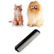 Pet Trimmer Grooming Comb ,Hunzed Cat Dog Brush Comb Rake Hair Shedding Kill Flea Comb For Pet