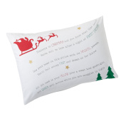 Mud Pie Santa Dreams Pillowcase Christmas Eve