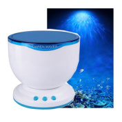 Healing Ocean Projection Wave Projection Lamp With Small Sound Night Lights