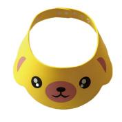 Baby Safe Shampoo Shower Bathing Protection Cap Adjustable Visor Hat
