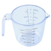 Oksale Household Plastic Measuring Cups Free Liquid Nesting Stackable Measuring with Handle, 150ML