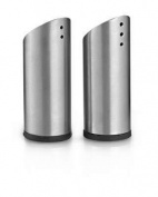 King International Stainless Steel Salt And Pepper Set Of 2 Pieces