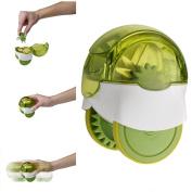 Xinzistar New Rolling Style Vegetable Garlic Crushed Chopper Mincer Slicer Garlic Press Kitchen Gadgets