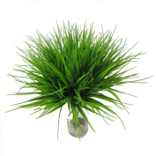 Artificial Plants ,Sunvy 4pcs Artificial Shrubs Faux Plastic Wheat Grass Fake Leaves Perfect For Home Garden Office Floor Restaurant Wedding Decoration
