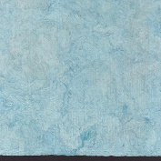 Amate Bark Paper from Mexico - Solid Azul Claro Light BLue 39cm x 60cm Sheet
