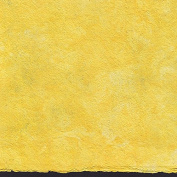 Amate Bark Paper from Mexico - Solid Amarillo Yellow 39cm x 60cm Sheet
