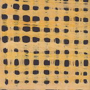 Amate Bark Paper from Mexico- Weave Amarillo Yellow 39cm x 60cm Sheet