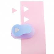 Yerger Cute Paper Cutter Triangle Maker Border Punch Craft Scrapbooking Tool