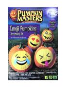 Pumpkin Masters Emoji Pumpkins Decorating Kit