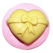 3D Love Bowknot Craft Art Silicone Soap mould Craft Moulds DIY Handmade Candle mould Chocolate Mould moulds