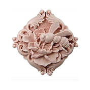3D Bee Flower Craft Art Silicone Soap mould Craft Moulds DIY Handmade Candle mould Chocolate Mould moulds