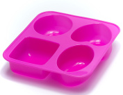 ALL in ONE Silicone Mould for DIY Craft Art Handmade Soap Mould, Cake Mould, Ice Cube Tray, Baking Mould