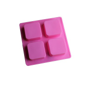 Square Soap Silicone Cake Chocolate Baking Mould