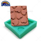 Diyclan silicone moulds for cake 7.56.51 CM pudding jelly dessert chocolate mould handmade soap mould F0403AX35