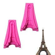 WYD 3D Tower Silicone Moulds Cake Moulds Decoration Handmade Soap Fondant Baking Tool Moulds
