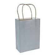 Small Colourful Kraft Paper Bags, 14cm wide, Made in USA, High Quality