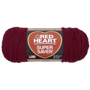 Yarn Red Heart Super Saver Burgundy 210ml - 198 grammes - 364 yards