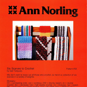 Ann Norling Pattern #58 Scarves To Crochet