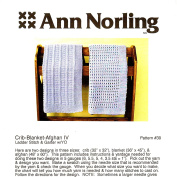 Ann Norling Pattern #39 Crib-Blanket-Afgan