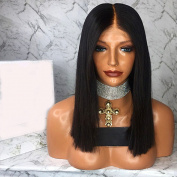 Esth Hair Natural Straight Full Lace Hair Wigs 100% Best Brazilian Remy Human Hair 180 Density