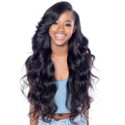 Oulaer New Fashion Brazilian Virgin Hair Body Wave Human Hair Lace Front Wigs With Baby Hair For BLack Woman Glueless Lace Wig 180% Density 50cm Full Lace Wig