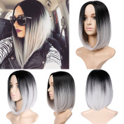 Women's Fashion Short Bob Wig Short African Wigs For Women Party Costume Wig