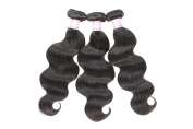 Brazilian Virgin Hair Body Wave 3Bundles Hair Weaves Unprocessed Human Hair Extensions 70g 14 16 46cm Natural Colour