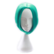 sunshine Susie Short Wig 30cm Multicolor Women's Straight Synthetic Wigs with Free Wig Cap(cosplay)