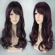 a gradient colour wig colour wig Harajuku style female long curly hair - gradient colour wig European wigs wig a wig long curly hair Harajuku