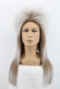 Yuehong Long Straight Rock Star Style Wig Halloween Cosplay Wig