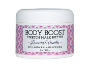 Body Boost Lavender Vanilla Stretch Mark Butter 240ml- Pregnancy and Nursing Safe Skin Care