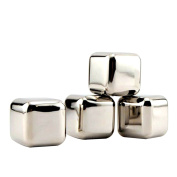 Stainless Steel Soapstone Chillers Whiskey Stones Ice Cubes