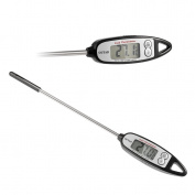 Digital Meat & Cooking Thermometer OUTAD Instant Read Thermometer with Pen-style LCD Display for Kitchen BBQ Grill Smoker