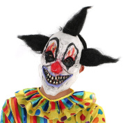 Scary Clown Mask Halloween Party Costume Decorations Creepy Latex Mask