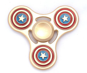 Focus Spinner and Key Chain Two Piece Set in Awesome Superhero Designs