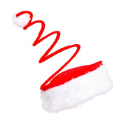 LUOEM Christmas Santa Hat Merry Christmas Hat Party Supplies Christmas Headwear for Party Accessory