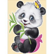 DEESEE(TM) 5D Animal Diamond Rhinestone Pasted Embroidery Painting Cross Stitch Home Decor (E