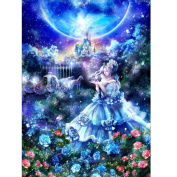 DEESEE(TM) 5D Embroidery Paintings Rhinestone Pasted DIY Diamond Painting Cross Stitch (C