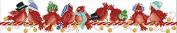 "Lemon Tree Cross Stitch Kits Beginners Cross-Stitching Accurate Pre-printed Pattern -Merry Christmas 11CT 35""X7"", Frameless"