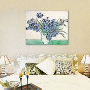 Faraway Full Diamond Painting Van Gogh Series Iris Diy oil Diamond Embroidery Decorated Living Room