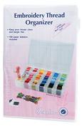 Hemline Embroidery Floss Thread Organiser Box