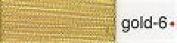 Madeira No 40 Metallic Machine Embroidery Thread 200m Gold 6 - per spool
