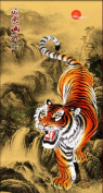 Fineser(TM) DIY Diamond painting Cross Stitch 5D Embroidery Paintings Rhinestone Pasted Tiger B