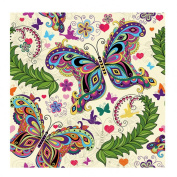 Fineser(TM) DIY Diamond painting Cross Stitch 5D Embroidery Paintings Rhinestone Pasted Butterfly A