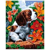 DEESEE(TM) 5D Animal Diamond Rhinestone Pasted Embroidery Painting Cross Stitch Home Decor (B