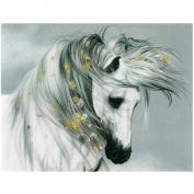 DEESEE(TM) 5D Animal Diamond Rhinestone Pasted Embroidery Painting Cross Stitch Home Decor (G