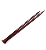 US Size 10.5 - Metric Size 7mm Rosewood Premium Knitting Needle | Handmade Exquisite Natural Wood Craft Knitting Supplies & Accessories | Nagina International
