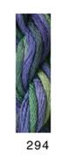 CARON- WATERLILLIES-294-BLACK IRIS--1 -6 yd skein with this listing