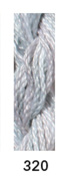 CARON- WATERLILLIES-320-ARTIC FROST--1 -6 yd skein with this listing